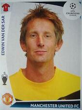 Panini 74 Edwin van der Sar Manchester United UEFA CL 2009/10