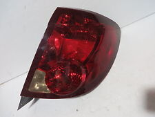 SATURN ION ION 2 ION 3 4 DOOR COUPE 2003-2007 TAIL LIGHT PASSENGER RIGHT RH