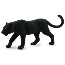 Mojo Black Panther 387017 Wildlife Animal Figure 6cm Tall 13cm Long Ages 3+
