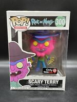 Funko Pop! Rick and Morty: Scary Terry (NEON) #300 Gamestop Exclusive MINT NEW