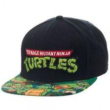 e4bbce4217f Bioworld Teenage Mutant Ninja Turtles TMNT Sublimated Bill Snapback Hat