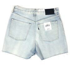 Levi's Made Crafted Women's Cut Off Barrel Shorts Size 27 $158