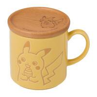 Pokemon Center Original Pikachu Album Collection Mug Cup Woodbox Japan