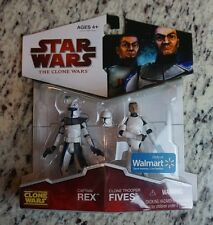 Captain Rex Clone Trooper Fives The Clone Wars STAR WARS Walmart EXCLUSIVE
