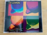 U2 - LEMON - Import CD Single-RARE Australia (1993, ISLAND)