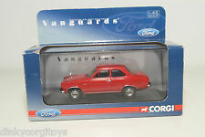 . VANGUARDS CORGI VA 09500 FORD ESCORT MKI MK1 DRAGOON RED MINT BOXED