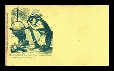 Dr Jim Stamps Us Missouri Mouse Secession Soup Cachet Civil War Cover Unused