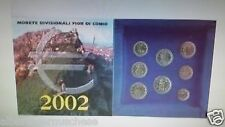 2002 SAN MARINO 8 monete 3,88 EURO BU Saint Marin divisionale ufficiale KMS fdc