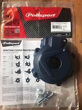Tapa de encendido Protector compatible con HUSQVARNA FE 250 350 2014-2016 Azul