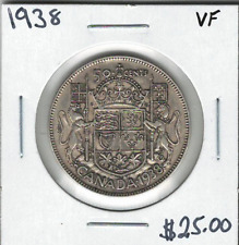 Canada 1938 50 Cents VF Lot#5