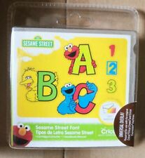 Sesame Street Font Cricut Cartridge -  Brand New, Sealed