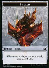 Emblem - Ob Nixilis Reignited | NM/M | Nissa vs. Ob Nixilis | Magic MTG