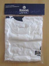 """Binding Fussball Cup 2009 T-Shirt - XL - White """"Hessen Kickt"""" Print"""
