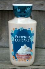 Bath & Body Works PUMPKIN CUPCAKE Shea & Vitamin E Body Lotion 8 oz