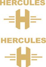 "2 x HERCULES  "" H "" Aufkleber 80 mm x 54 mm -viele Farben"
