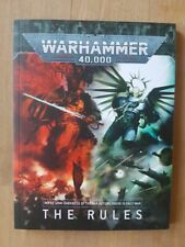 The Rules - 9th Edition Warhammer 40K Softcover Rulebook (English Version)