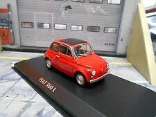 FIAT 500L 500 L rot red MKI 1965 NEU Minichamps Maxichamps 1:43