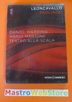 LEONCAVALLO PAGLIACCI -Harding Martone- Teatro alla scala DVD + CD nuovo [dv47]
