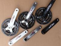 CHAINSET Suntour XCT Alloy Crank Arm 22/32/42 set Bike Cycle MTB ATB