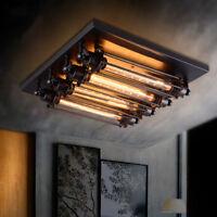 Retro classics Steampunk Wall Sconce Ceiling Lamp Flush Mount T30 Light Fixture