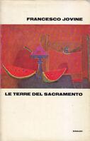 LE TERRE DEL SACRAMENTO di Francesco Jovine - Einaudi Editore III edizione 1970