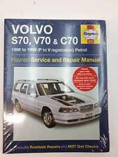 Volvo S70, V70 & C70 Haynes Service and Repair Manual 1996-1999