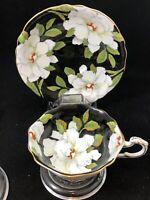 Paragon Gardenia Magnolia Saucer & Cup To The Bride