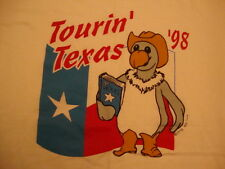 Vintage Touring Texas 1998 Culture Vulture Official Guide of Beers T Shirt L
