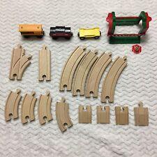 BRIO Train Track Lot Safety Gate Boxcar Caboose Thomas/Brio Compatible 18 Pcs