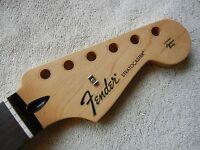 Genuine Fender Standard Stratocaster Strat Neck Rosewood Fingerboard 2015