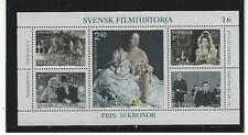 Sweden 1981 Cinema / Movies Greta Garbo S/S Mnh*