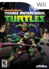 Teenage Mutant Ninja Turtles Nintendo Wii Game