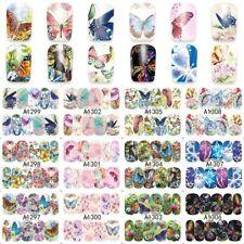 Nail Stickers Water Decals Transfers Butterfly Butterflies Gel Polish Sticker
