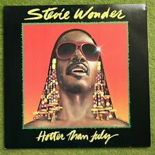 LP Stevie Wonder-Hotter Than July (1980)