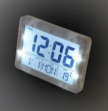 LCD Horloge Numérique Réveil Station météorologique ALARME MONTRE (2619w)