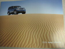 2009 Jeep Liberty Sales Brochure Catalog Manual
