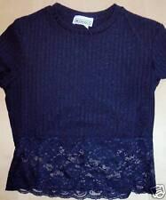 Mirrors Juniors Black Shirt Size M