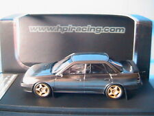 SUBARU LEGACY RS BLACK METAL POLISH HPI RACING 8192 1/43 LEFT HAND DRIVE RESINE