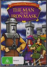 THE MAN IN THE IRON MASK - ANIMATION - A STORYBOOK CLASSIC - DVD - NEW