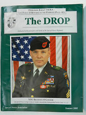 """""""GREEN BERET"""" THE DROP MAGAZINE, SUMMER 2008 ISSUE, SPECIAL FORCES ASSOCIATION"""