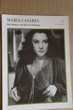 (S39) STARFILMKARTE - Maria Carsares - Die Damen vom Bois de Boulogne