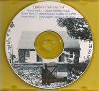 Quaker Exiles in Virginia - VA History & Genealogy