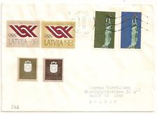 COVER LATVIA LATVIJA LETTONIE TO SWEDEN. L566
