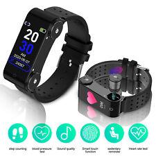 2-in-1 Smart Watch Wristband With Wireless Tws bluetooth 5.0 Headphone Earphone