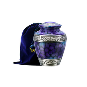 SOULURNS® - Beautiful Purple Cloud Adult Cremation Urn for Human Ashes