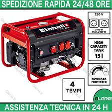 EINHELL TC-PG 2500 4152540 Generatore di corrente gruppo elettrogeno 4 T 4,7KW
