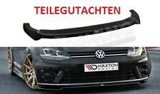 GOLF 7 R Diffusor Lippe R-Line Spoilerlippe Frontspoilerlippe Frontansatz VW MK7