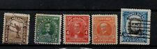 5 Vintage Costa rica stamps priced to clear stock