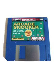 60272 Disk 112 Amiga Magazine - Arcade Snooker - Commodore Amiga A1200 + A4000