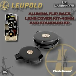 Leupold ALUMINA FLIP BACK LENS COVER KIT - 40MM AND STANDARD EP